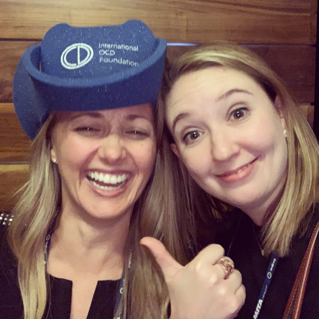 My Takeaways From the 2019 IOCDF Conference OCD Health Anxiety BFRB's Depression Eating Disorders Community Your Anxiety Toolkit Podcast host Kimberley Quinlan