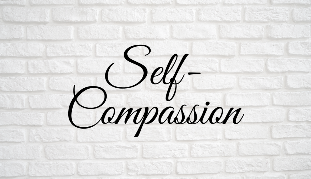 A Compassion Tool when you don't feel worthy of compassion