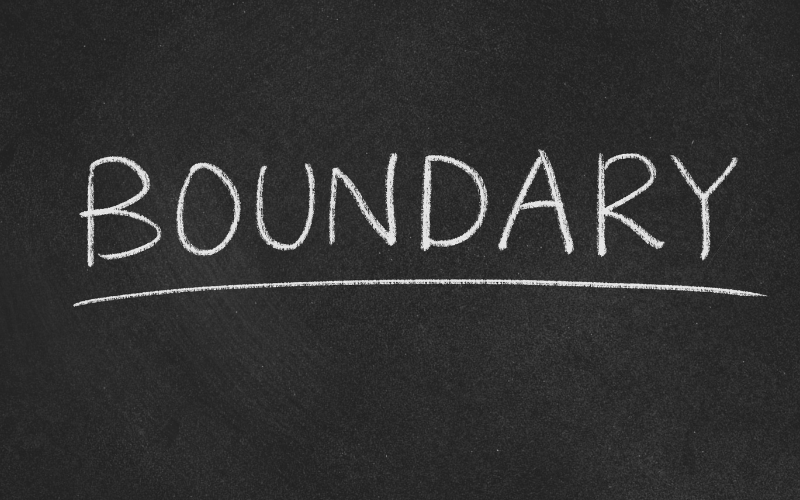setting boundaries with fear